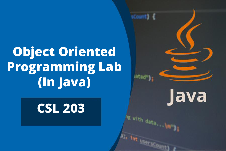 Object Oriented Programming Lab (In Java)